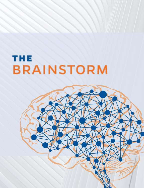 The brainstorm is the MBI's semi-annual newsletter