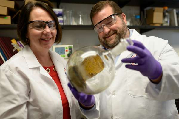 Bonnie Avery and Francisco Leon conduct kratom research to treat pain and addiction